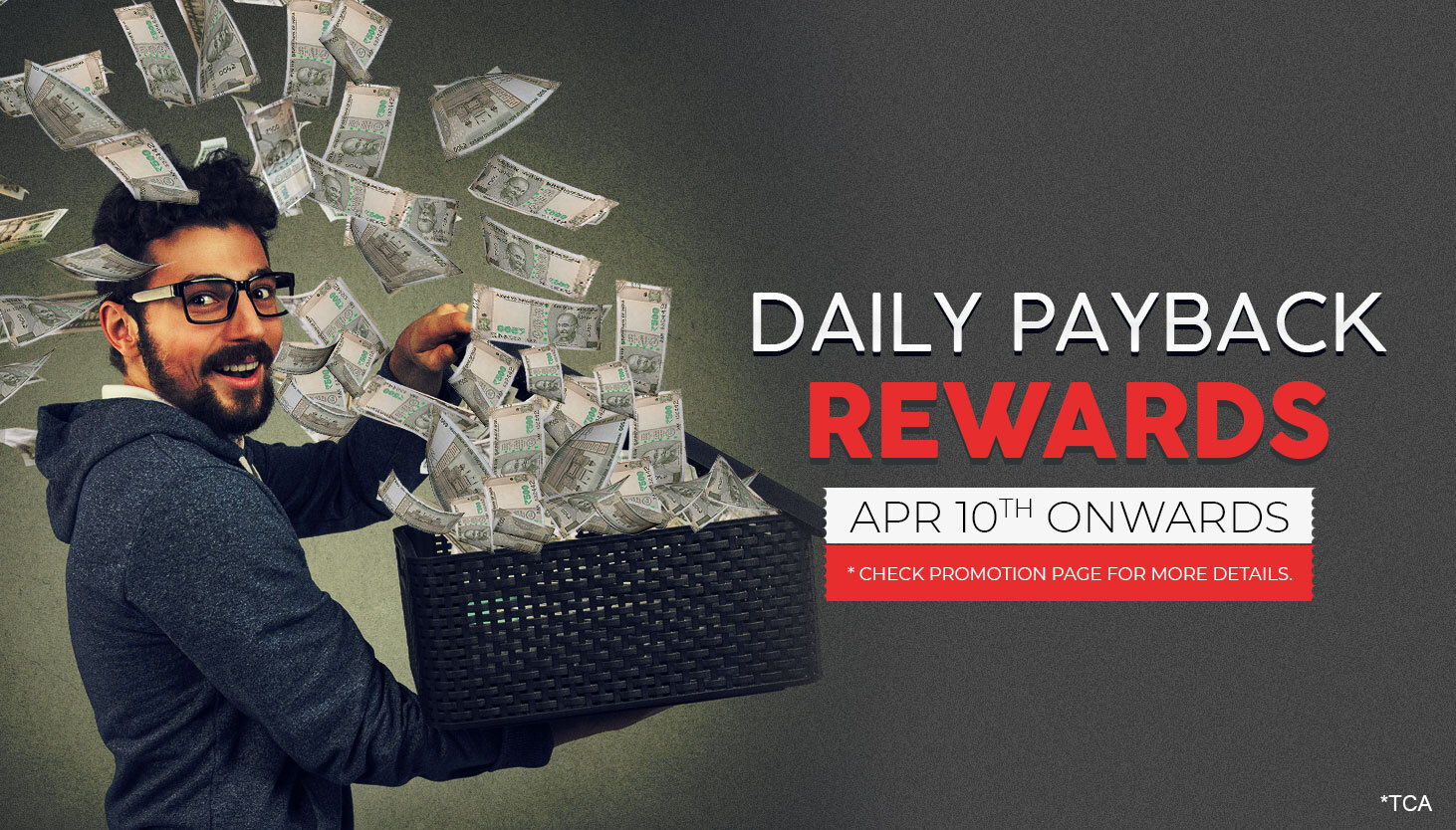 Daily Payback Rewards