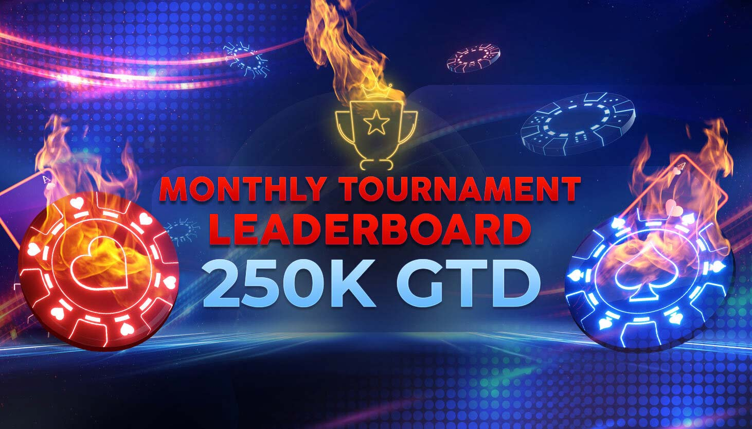 Monthly Tournament Leaderboard